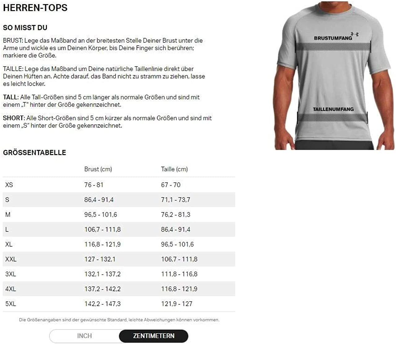 Under Armour Herren Seamless 1//2 Zip T-Shirt