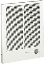 Broan-NuTone 198 High Capacity Wall Heater, White Painted Grille, 4000/2000 Watt 240 VAC,