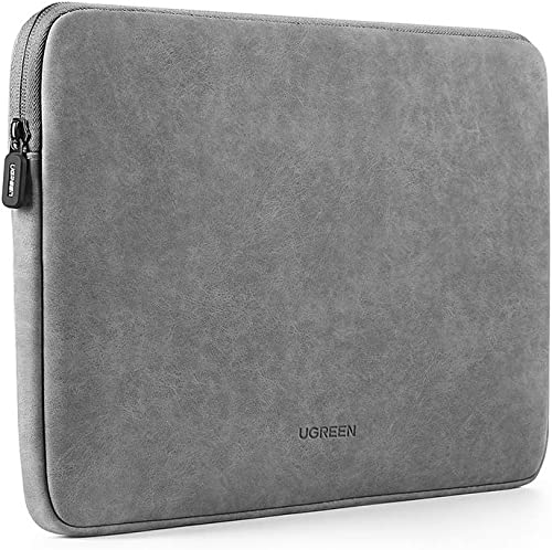 """high quality UGREEN 13.3 Inch Laptop Case PU Suede Leather Soft Padded Zipper Cover Sleeve Case Compatible with 2018 2020 MacBook Air 2017 2019 MacBook Pro online 13"""" iPad Pro Microsoft Surface Samsung Dell 2021 HP online"""