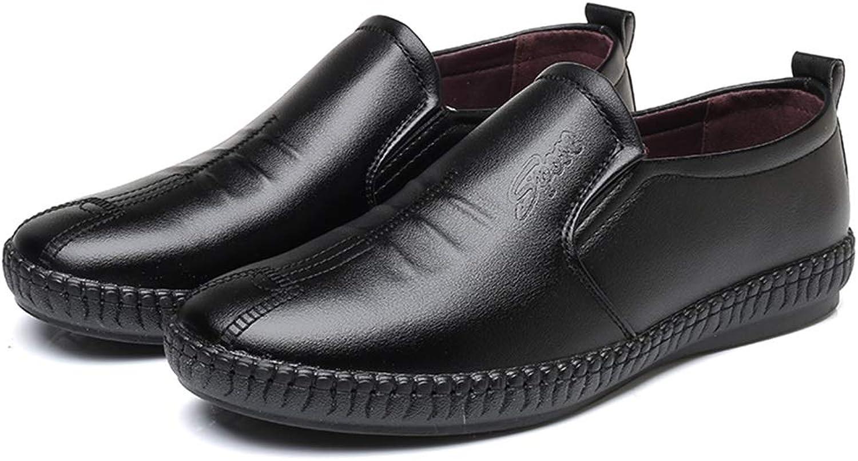 Easy Go Shopping Herrenmode Oxford Casual Komfortable weiche leichte Slip On Formelle Schuhe,Grille Schuhe