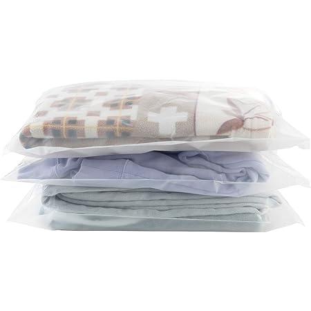 Maojuee Busta Organizer in Plastica Impermeabile 20 pz Sacchetti in Plastica Trasparente Richiudibili per Vestiti, Biancheria Intima, Scarpe, Beauty Case