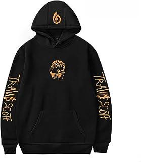 LIZCX Travis Scott Street Hip Hop Hoodie heren en dames lente en herfst casual sweatshirts Street Large Size Pullover (XS-...