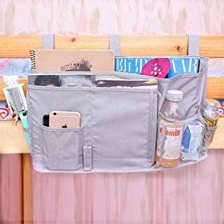 YOUYUANF Almacenamiento Student Dormitory Bedside Bag Oxford Cloth Storage Hanging Bag Bedroom Storage Bag Baby Bedside Hanging Bag Diaper Storage Bag