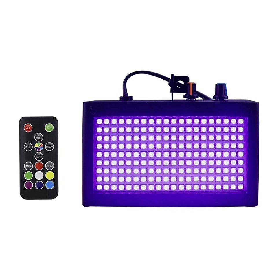 手数料牛肉頼る舞台照明、ミニパーライトディスコの照明締約国180 LEDフラッシュストロボライトDJステージライトリモートコントロール(色光)