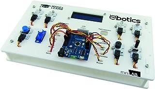 Ebotics BXLAB01 - Kit de robótica educativa Minilab Ebotics con múltiples componentes