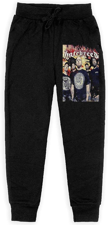 Baishuunnshan Hatebreed Sweatpants Teens Sport Trousers Athletic FUUNY Pants for Boy Girls