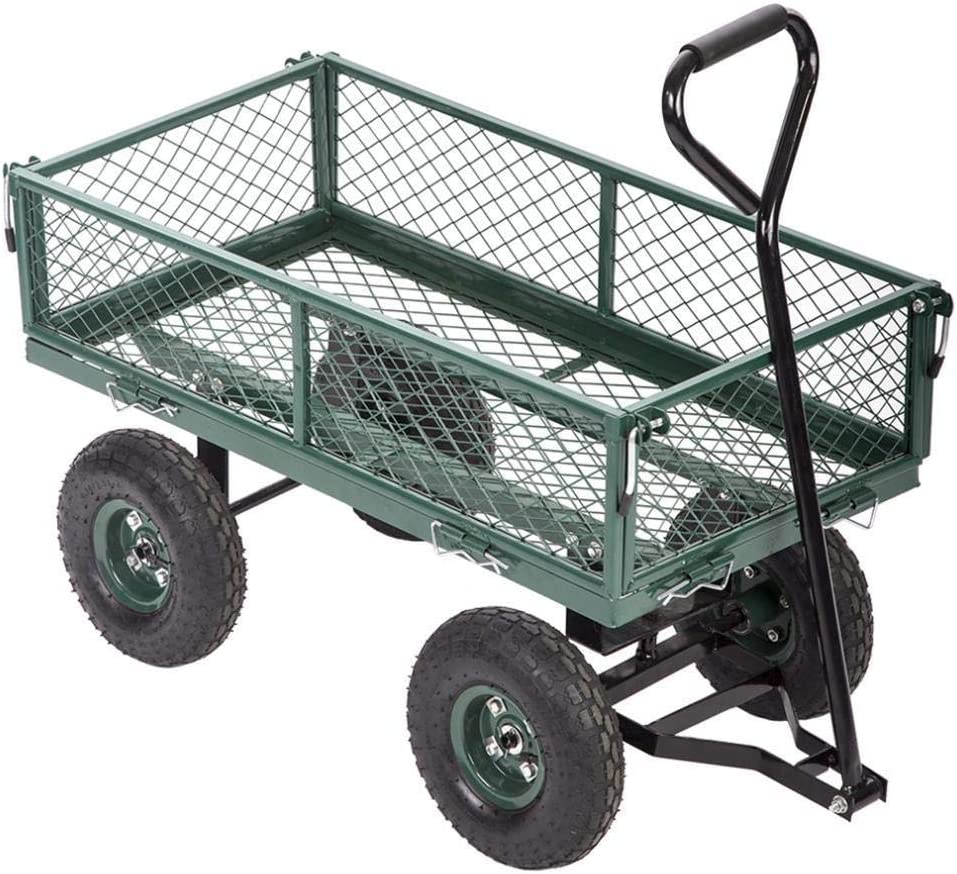 Best Garden Carts Super Manufacturer OFFicial shop beauty product restock quality top Wagons Utility Yard Outdoor Lawn Beach Buggy