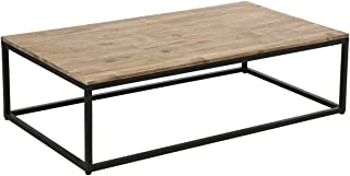 Amazon.fr : table basse bois style industriel