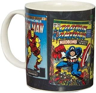 Marvel Comics Heat Change Mug, Bone China, Multi-Colour, 8 x 12 x 10 cm