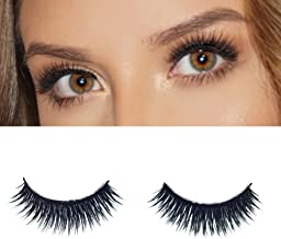 Milanté Beauty Foxy Double Layer False Lashes Vegan Black Natural Thick Long Full Reusable Fake Strip Eyelashes