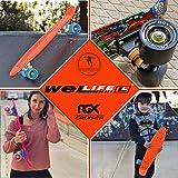Zoom IMG-1 wellife skateboard rgx mini cruiser