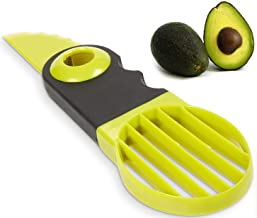 Noosa Life | Avocado Slicer | 3-in-1 Tool | Splits - PITS - Dices | Avocado Tool with Comfort-Grip Handle | Lightweight and Easy to Use | Perfect for Fruits and Vegetables