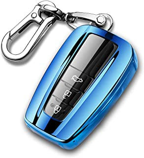 QBUC for Toyota Quicksand TPU car Key Cover, Quicksand Full Coverage Protection Quicksand Keychain Cover
