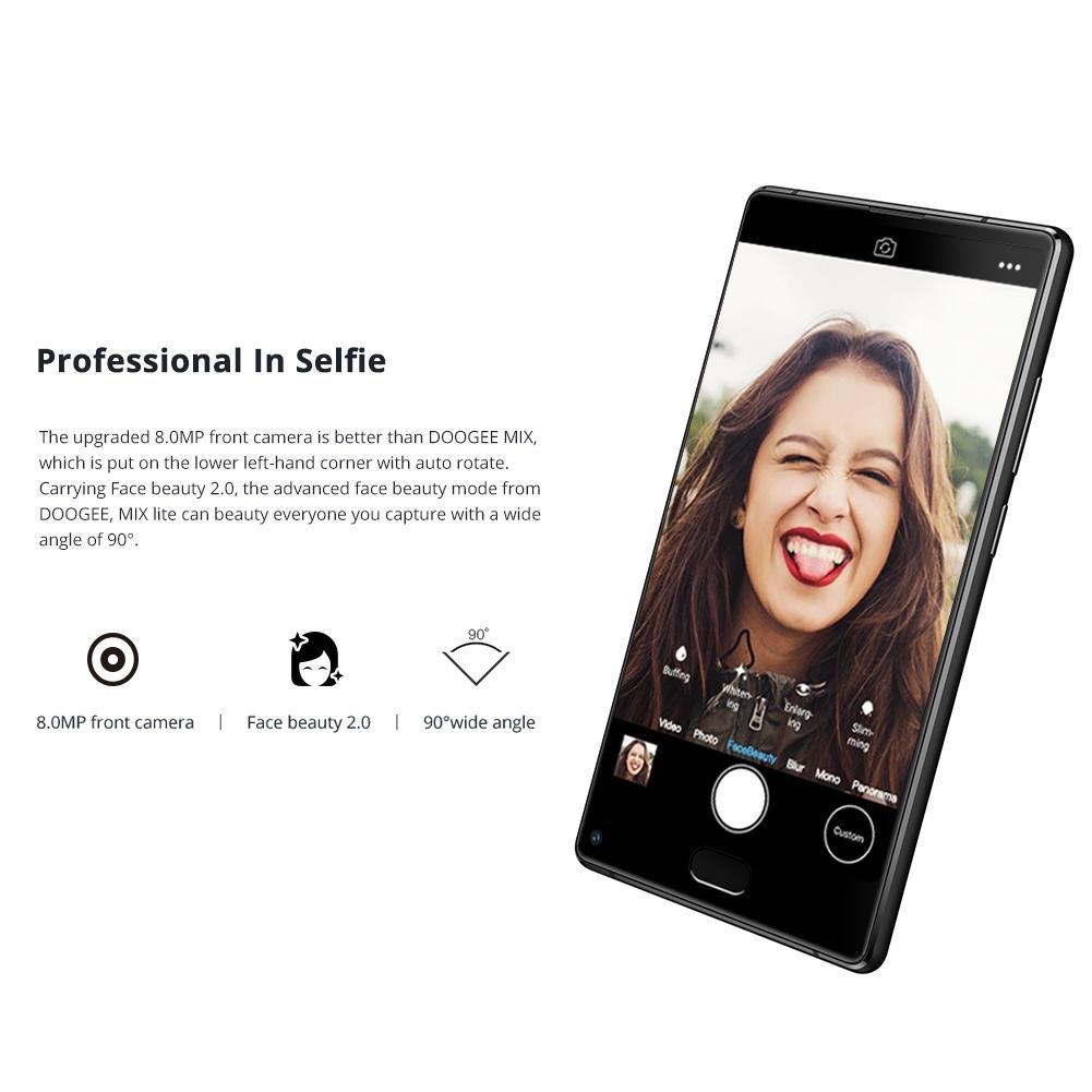 feiledi Trade Mobile Phones Unlocked, DOOGEE Mix Lite 5.2 Inch Android 7.0 Dual SIM Unlocked Smartphones, Quad Core 2 GB + 16 GB 3080 mAh Antihuellas cellp Smartphone: Amazon.es: Electrónica
