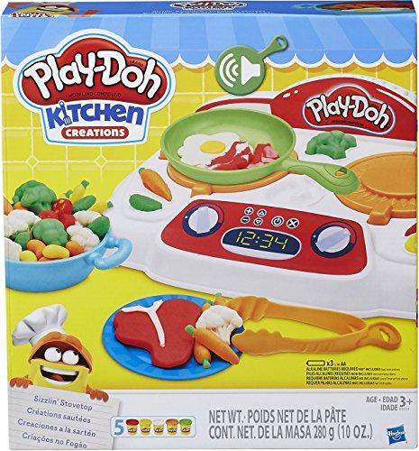 Hasbro Play-Doh B9014EU4 - Brutzel-Herd, Knete
