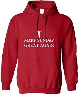 Make Sunday Great Again Adult Sweatshirt Hoodie