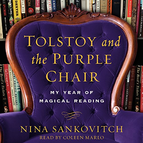 Tolstoy and the Purple Chair audiobook cover art