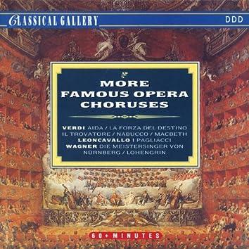 Verdi - Leoncavallo - Wagner: More Famous Opera Choruses