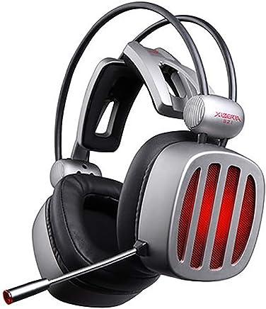 BESTSUGER Cuffie da Gioco cablate con Archetto, Cuffie Stereo con Suono Surround con regolatore di Volume a LED per PC - Trova i prezzi più bassi