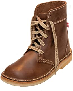 Faborg Unisex Lace-Up Leather Boot