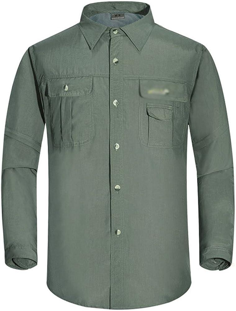 Baymate Deportes Al Aire Libre Trekking Camisa para Hombre ...