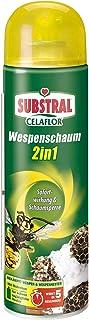 Celaflor Wespenschaum 2in1, gegen Wespennester, bis zu 3 Meter Sprühstrahl, Sofort- und..