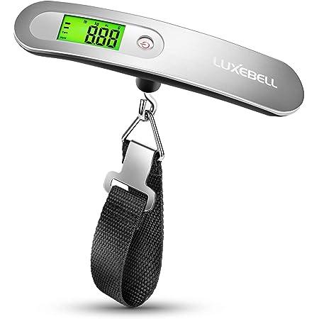 Luxebell Pèse Bagage Numérique Electronique Balance de Voyage Electronique Balance Numérique Portable 50kg Max Pour Voyage Shopping Avec Pile