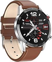 SmartWatch Heren ECG PPG Waterdicht Bluetooth Oproep Bloeddruk Mode Polsbandjes Armband Fitness Smart horloge