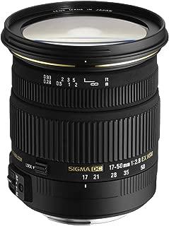 SIGMA 標準ズームレンズ 17-50mm F2.8 EX DC OS HSM ニコン用 APS-C専用 583552