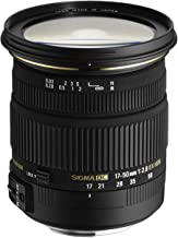 Sigma 17-50mm f/2.8 EX DC OS HSM FLD Large Aperture Standard Zoom Lens for Nikon Digital DSLR Camera