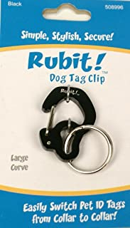 Rubit The Easy Dog Tag Curve Shape Switch Clip. Large