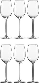 Schott Zwiesel Diva–Juego de 6copas de vino vino blanco cristal Copa de vino)