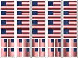 40 Tattoos: United States Of America Flag, American Patriotic Party Favors