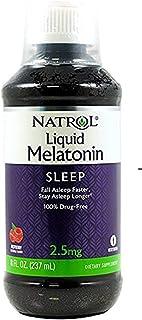 Natrol Melatonin 2.5 mg Liquid 8 oz