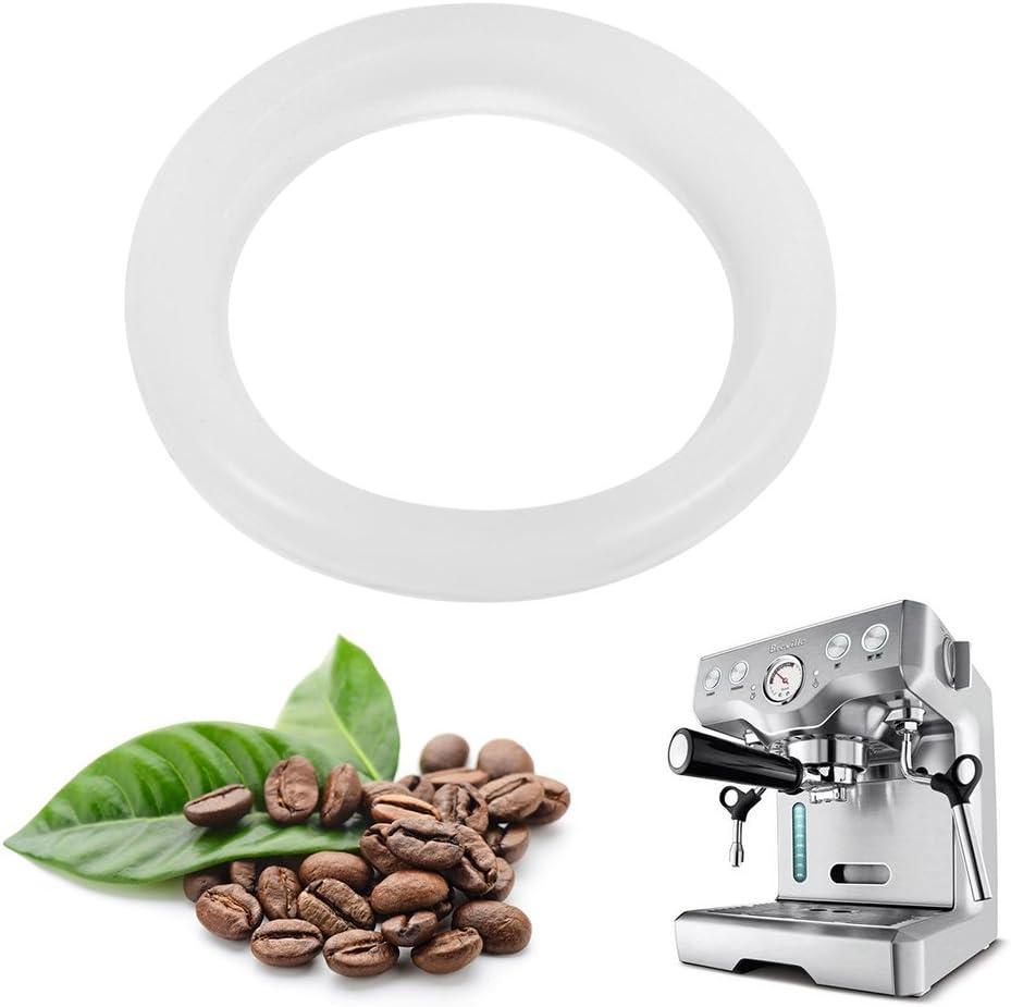 Anillo de Sellado de Junta de Silicona para Cafetera, de Junta Tórica para Cafetera Cabezal para Pieza de Accesorios Profesional Universal Cafetera Máquina de Café Expreso