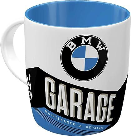 Nostalgic-Art 43035 Retro Kaffee-Becher BMW - Garage, Große Lizenz-Tasse mit BMW-Motiv, Geschenk-Idee für Vintage-Liebhaber, 330 ml preisvergleich bei geschirr-verleih.eu