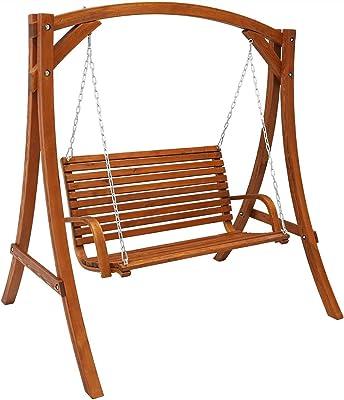 Amazon.com : Lakeland Mills 5\' A - Frame Yard Swing : Bench Swings ...