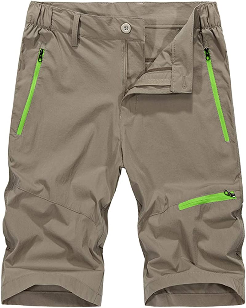 Polesem Men's Summer Outdoor We Tulsa Mall OFFer at cheap prices Lightweight Hiking Dry Quick Shorts