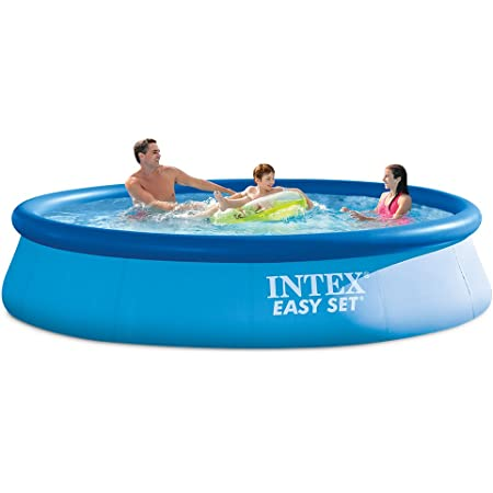 Summer Waves 15ft X 36in Quick Set Inflatable Above Ground Swimming Pool With Filter Pump Garden Outdoor