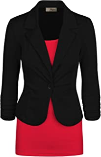 HyBrid & Company Womens Casual Work Office Blazer Jacket Made in USA