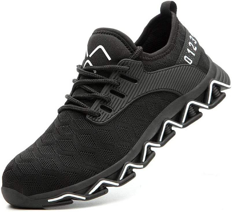 40% OFF Cheap Sale Steel Toe-Cap Flying Woven Shoes Fixed price for sale Mesh Anti-Smashing Lightweight