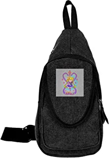 Sailor Moon And Luna Traveling Chest Bags For Men&Women Multipurpose Casual Daypack Hiking Shoulder Bag