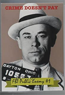 John Dillinger (Trading Card) 2016 Historic Autographs The Mob - National Promos #HA-VIP