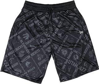 Disery Pallacanestro Pantaloni da Uomo Toronto Raptors Casual Pantaloncini Sportivi Pantaloni Assorbimento dellumidit/à ad Asciugatura Rapida Atletica Basket Formazione,S