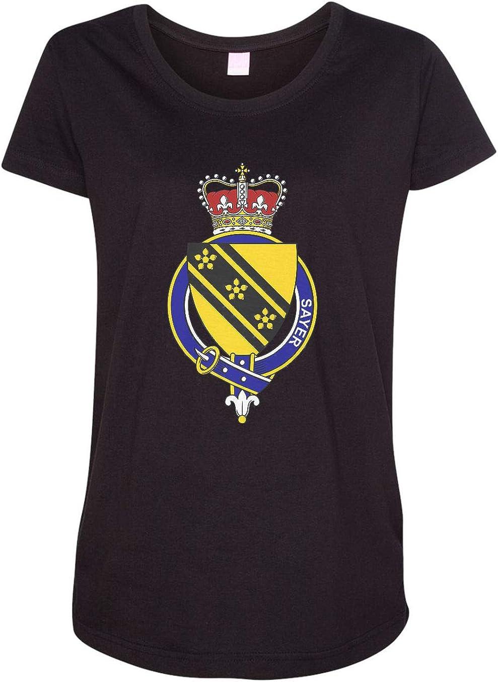 HARD EDGE DESIGN Women's English Garter Family Sayer T-Shirt
