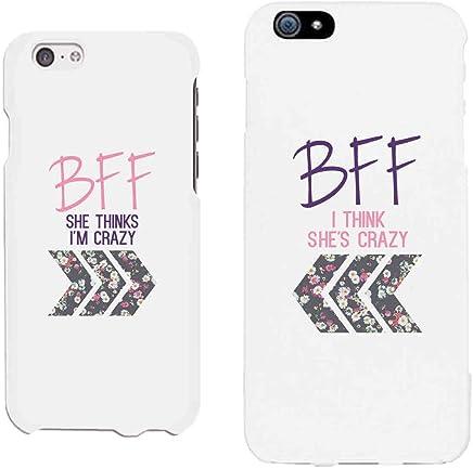 a7693c1b5d1 365 Impresión fundas de teléfono BFF Mejores amigos Floral fundas de  teléfono iPhone 4, iPhone