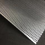 Lochblech Alu RV5-8 Aluminium 2mm Zuschnitt individuell auf Maß NEU günstig (250 mm x 250 mm)