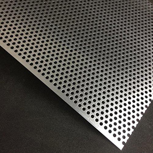 Lochblech Alu RV5-8 Aluminium 2mm Zuschnitt individuell auf Maß NEU günstig (1000 mm x 550 mm)