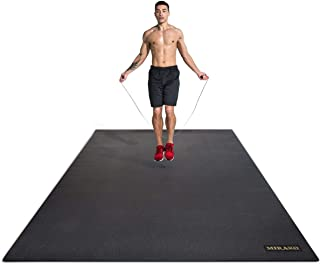 Miramat® Mega - Very Large Premium Exercise Mat (214 x 153 cm; 7mm Thick) - Durable Non-Slip Workout Mats for Home Gym, Cr...