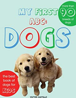My First Dogs ABC: Dogs Breeds(Large Print Edition)